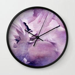 Where the wild Roses grow Wall Clock