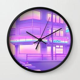 Konbini Nights Wall Clock