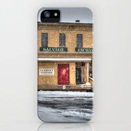Vermont Salvage iPhone Case