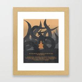The Beast in the Boy Framed Art Print