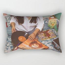 Diggin thru the Crates Rectangular Pillow