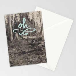 Oh.  Stationery Cards