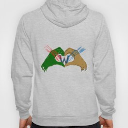 Orcs and humans Hoody