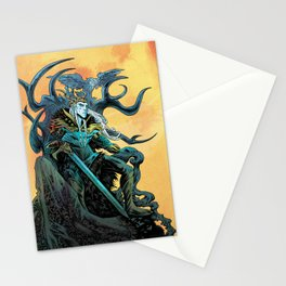 Elf King - Fire Stationery Cards