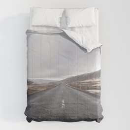 Iceland Road Comforters