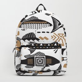 Boho Fishes Backpack