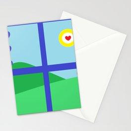 MY SOUL WINDOW Stationery Cards
