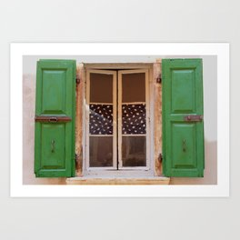 Windows of Croatia  Art Print
