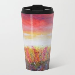 Wildflower Daze Metal Travel Mug