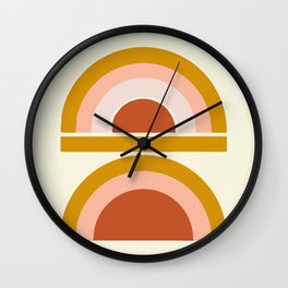 Last Rainbow Wall Clock