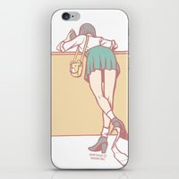 toilet iPhone & iPod Skins featuring Toilet Paper by Tomodachi Girls