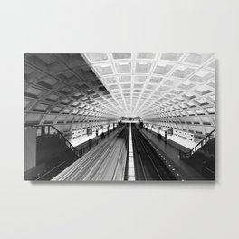 Commute Metal Print