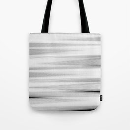 Black and White Stripes Abstract Tote Bag