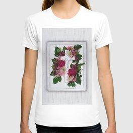 Crucifix by Kathy Morton Stanion T-shirt