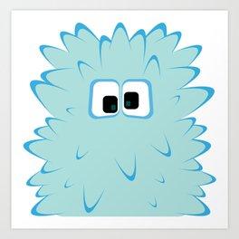 Bubble Beasts: Fur Tamer Art Print