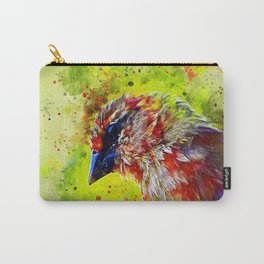 spotted madagascar fody wsstd Carry-All Pouch