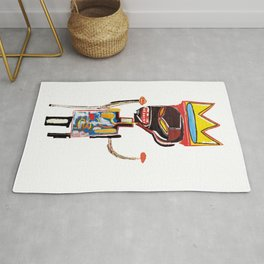 Homage to Basquiat Untitled Rug