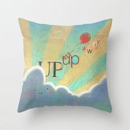 Up Up & Away Throw Pillow