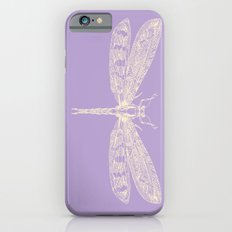 Lavender Dragonfly iPhone 6s Slim Case