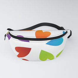 Abstract flora- colorful flower Fanny Pack