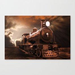 The Steam Trains Final Trip Canvas Print