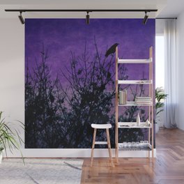 Raven Sentinel Wall Mural