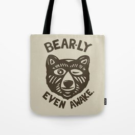 HI(BEAR)NATE Tote Bag