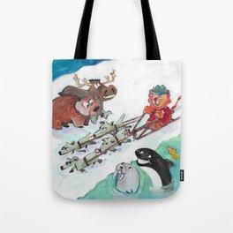 Alaska Cats Tote Bag