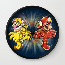 Super Flashy Rivals Wall Clock