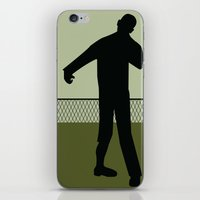 the walking dead iPhone & iPod Skins featuring Walking Dead by Drix Design