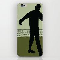 walking dead iPhone & iPod Skins featuring Walking Dead by Drix Design