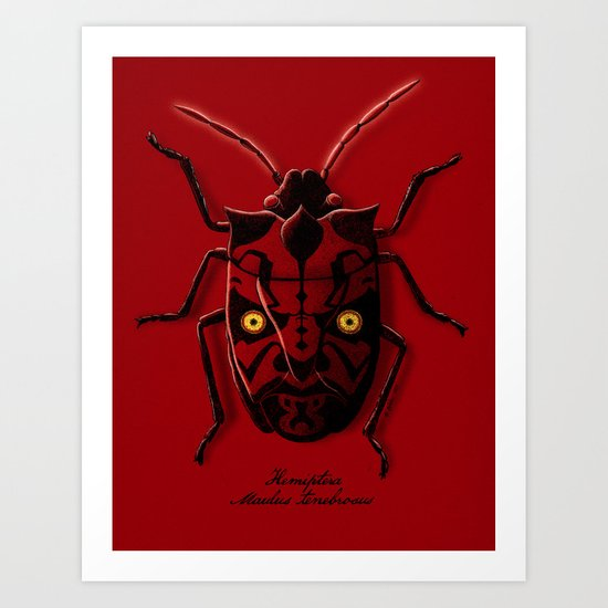 Uncommon Bug Art Print