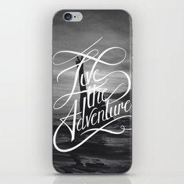 Live the Adventure iPhone Skin