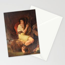 Giuseppe Cades - Achilles in his Tent with Patroclus, Playing a Lyre, surprised by Ulysses and Nesto Stationery Cards