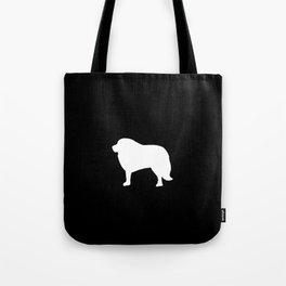 Big White Dog Tote Bag