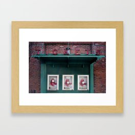 Tickets, Boston Framed Art Print