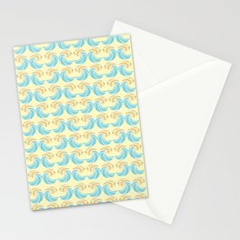 Trippy Wave Pattern Stationery Cards