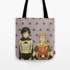 The Adventures of Hat-man and John the Boy Wonder Tote Bag