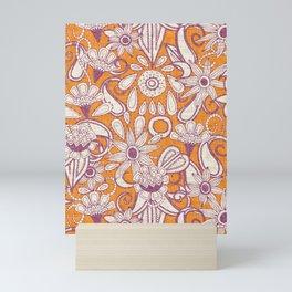 sarilmak tangerine damson Mini Art Print