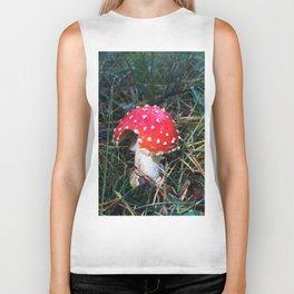 Fairy tale mushroom Biker Tank