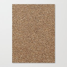 Wheat. Background. Canvas Print