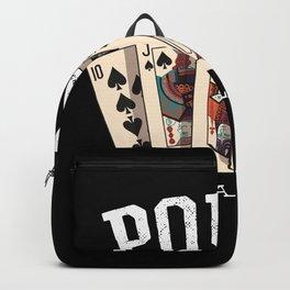 Poker Im All In Gambling Gift Gambler Backpack