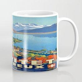 Vintage poster - Territet Montreaux Coffee Mug