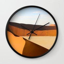 Sand Dunes Wall Clock