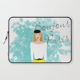 Bonjour Paris Laptop Sleeve