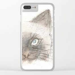 Unimpressed Clear iPhone Case