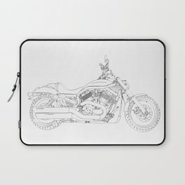 a motorcycle Laptop Sleeve