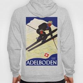 Vintage Adelboden Switzerland - Ski Jump Hoody