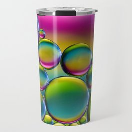 """Spherical Joining"" - Oil and Water Travel Mug"