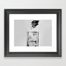 Where the fuck is my mind ? Framed Art Print